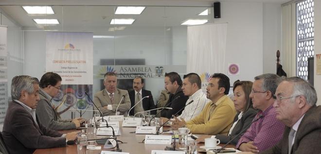 Aprobado informe de resultados de audiencias provinciales del Código INGENIOS