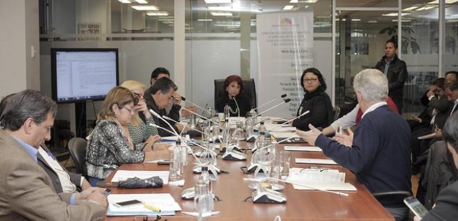 Comisión retoma debate de proyecto de Código de Entidades de Seguridad Ciudadana