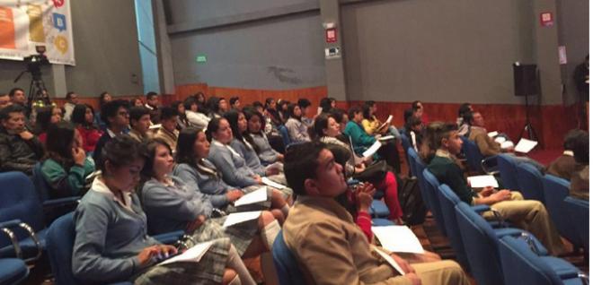 Presencia de juventud marcó desarrolló de la audiencia provincial INGENIOS en Tulcán