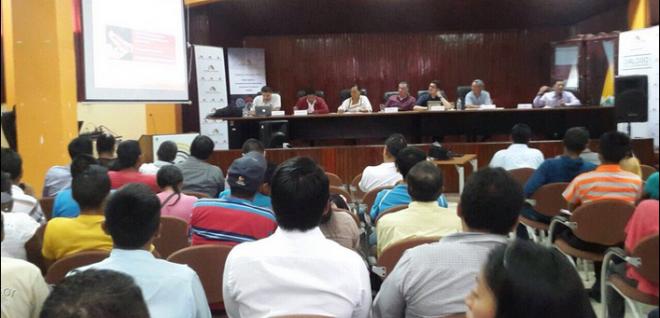 Audiencia pública de proyecto de Código INGENIOS se realizó en Tena