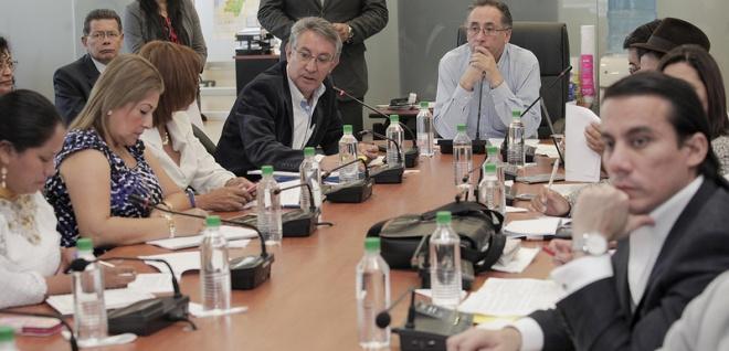 Comisión de Soberanía Alimentaria. Foto Archivo