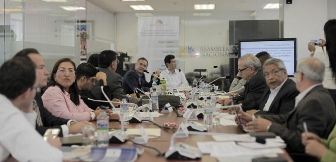 Comisión recibe nuevos aportes sobre el proyecto de Ley de Ordenamiento Territorial