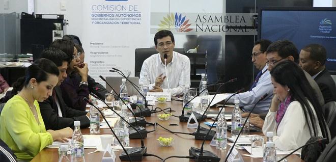La Comisión de Gobiernos Autónomos analizará la objeción al proyecto de Ley de Ordenamiento Territorial. Foto Archivo