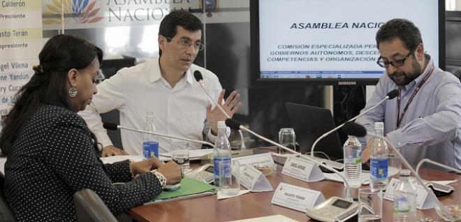 Comisión aprobó reformas al COOTAD que armoniza el texto con enmienda constitucional