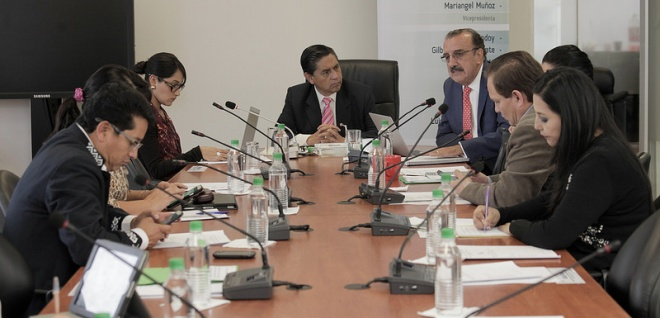 Comisión de Justicia profundiza estudio del proyecto de Código Administrativo