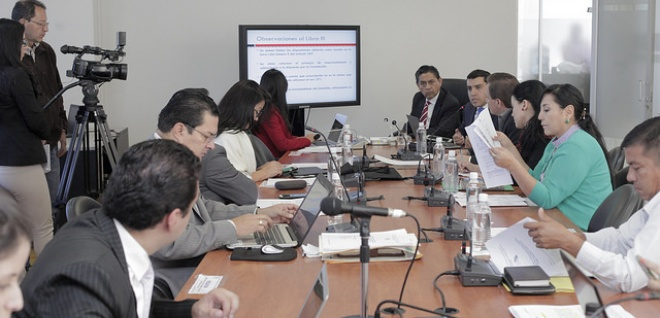 Código Administrativo debe precautelar derechos de los ciudadanos: Marco Morales