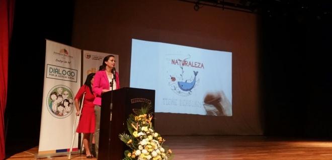 Marcela Aguiñaga: demandas ciudadanas se tratarán en el Legislativo y Ejecutivo