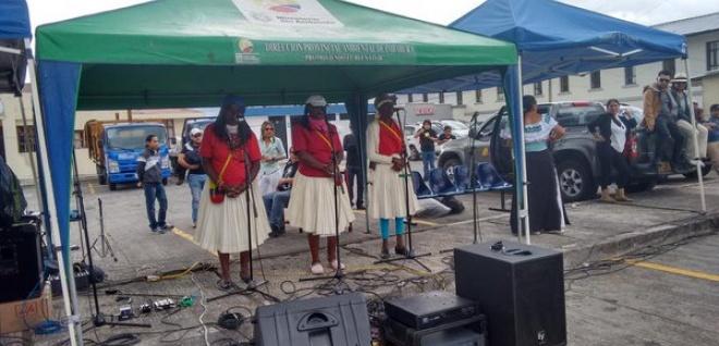 Otavalo dice presente con donaciones y expresiones de cultura e identidad