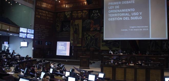 Proyecto de ordenamiento territorial pasó primer debate