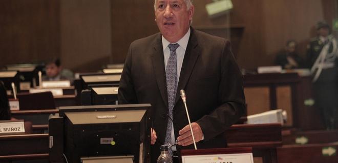 Asambleísta Raúl Abad, presidente de la Comisión de Educación. Foto Archivo