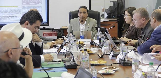 Régimen Económico estudiará proyecto para el equilibrio de las finanzas públicas. Foto Archivop