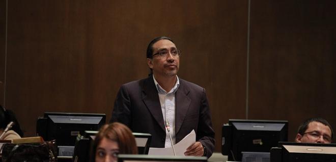 Virgilio Hernández, sesión del Pleno 404, \