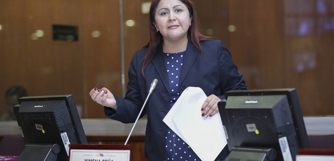 Asambleísta Ximena Peña. Foto- Archivo