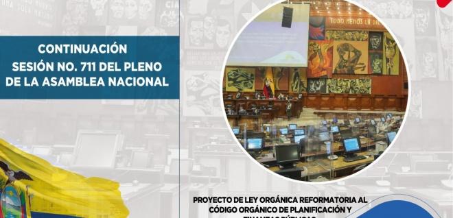 Parlamentarios exponen observaciones a reformas al Código de Planificación y Finanzas Públicas