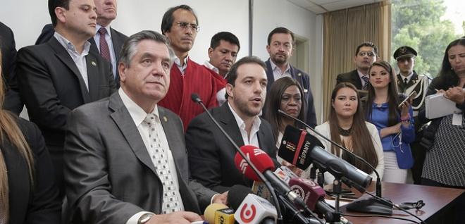CREO y PSC cuestionan decisión del CAL sobre juicio a Jorge Glas