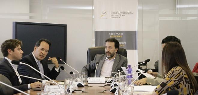 Comisión de Régimen Económico. Asamblea Nacional. Henry Cucalón
