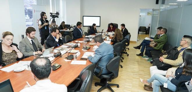 Comisión de Justicia, veto a reforma COIP