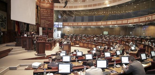 El Pleno de la Asamblea Nacional debatió y aprobó la Ley Orgánica de Cultura. Foto - Archivo