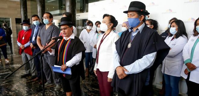 Proyecto que reconoce derechos de los servidores sanitarios es presentado por el legislador Ángel Maita