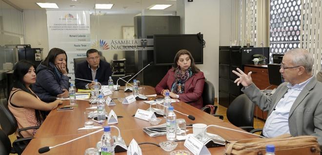 La Comisión de Gobiernos Autónomos aprobó criterio de garantizar el derecho a la propiedad privada