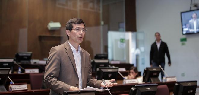 Asambleísta Richard Calderón, presidente de la Comisión de Gobiernos Autónomos. Foto Archivo