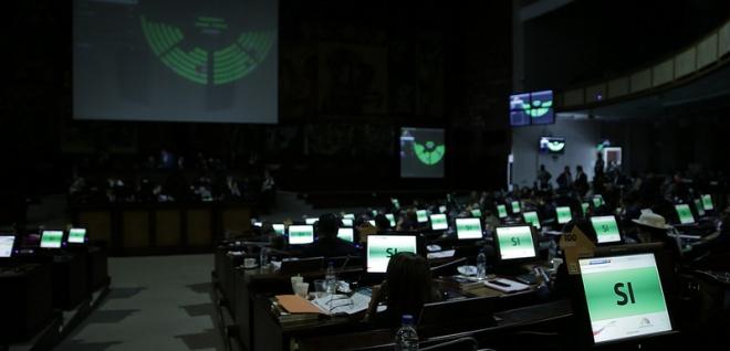 sesión del Pleno,
