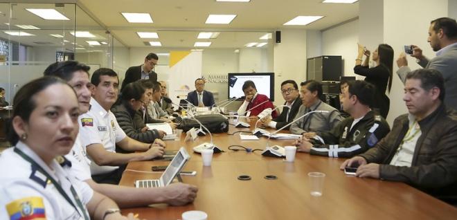 Expertos internacionales invitados a Comisión Ocasional del Tránsito