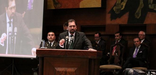 Ramiro Rivadeneira se posesionara el miércoles ante la Asamblea como Defensor del Pueblo. Foto - Archivo