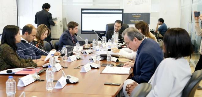 La actividad mercantil y los actos de comercio, en general, fueron analizados en la Comisión de Régimen Económico