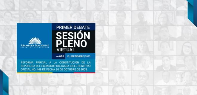 Proyecto de Reformas a la Constitución de 2008 pasó el primer debate