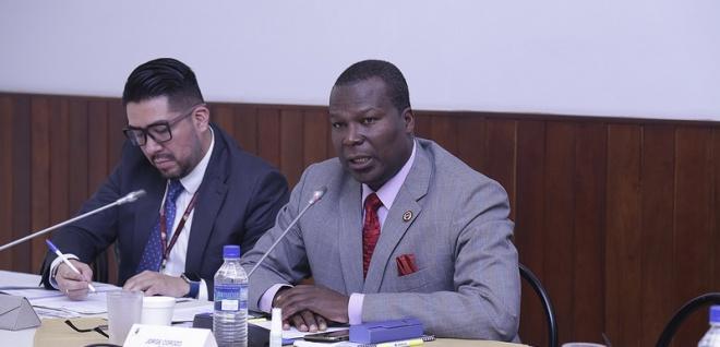 Asambleísta Jorge Corozo, presidente de la Comisión de Derechos Colectivos