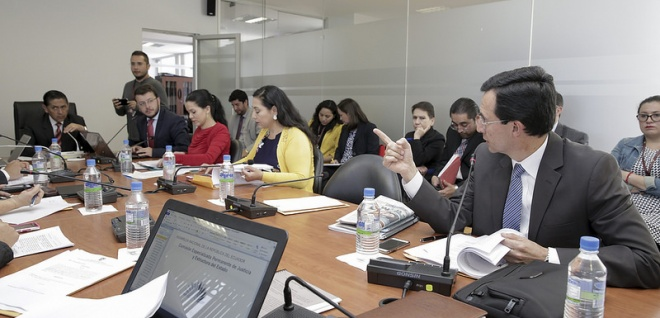La Comisión de Justicia analizó el proyecto de Código Administrativo. Foto - Archivo