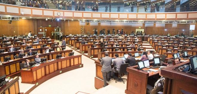 Sesión del Pleno 539,  primer debate Cogep,