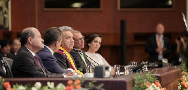 Presidente Lenín Moreno firmará decreto de austeridad en su gobierno