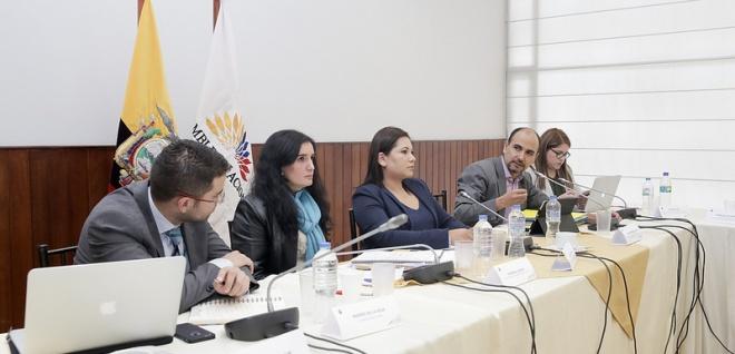 omisión Ocasional que estudia el proyecto de Ley para la Prevención y Erradicación de la Violencia contra las Mujeres