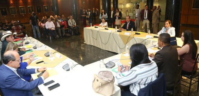 Comisión de Soberanía Alimentaria, sector Palmicultor