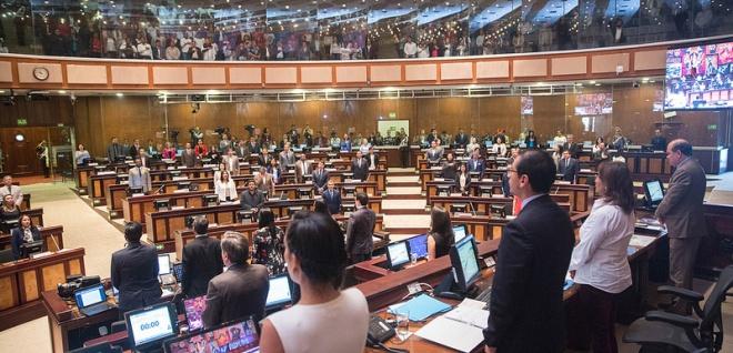 Sesión del Pleno 584, atribuciones CPCCS