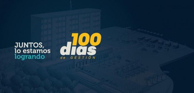 En 100 dias de gestión consolidamos una Asamblea de puertas abiertas. Juntos, lo estamos logrando