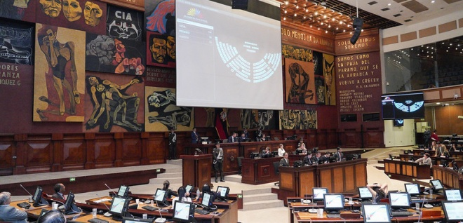 sesiones del Pleno de la Asamblea Nacional