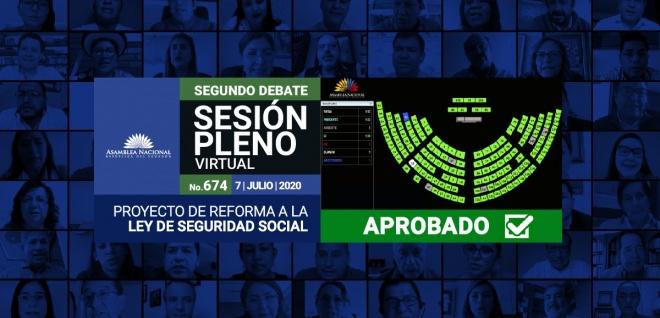 Sesión 674 del Pleno, Libreta del Afiliado, segundo debate,