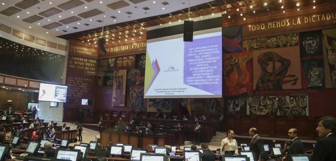 Concluyó primer debate de Ley Crecimiento Económico con amplia discusión