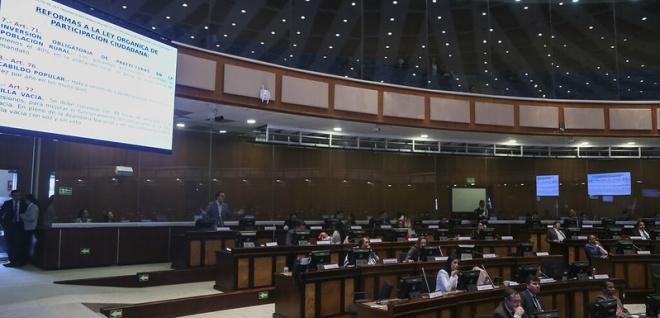 Proyecto de reformas a Ley de Participación Ciudadana pasó primer debate en el Pleno