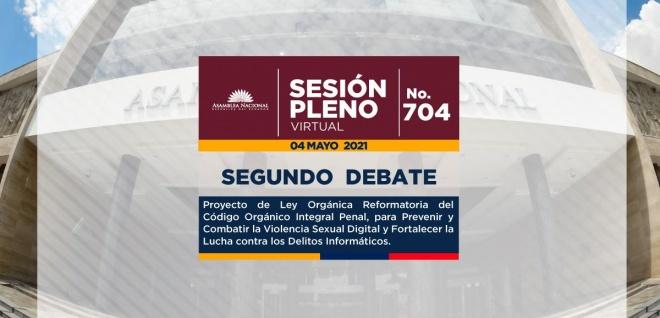 Sesión del Pleno 704, violencia digitqal, segundo debate, José Serrano,