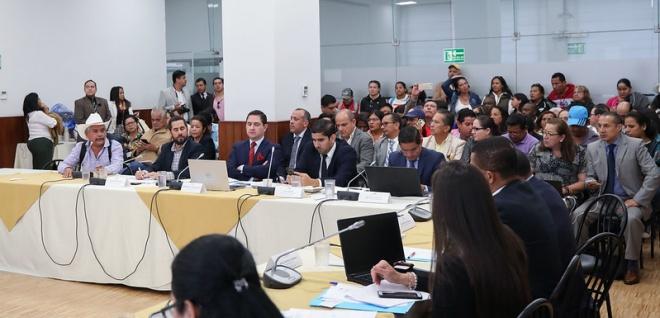 Parlamentarios buscan solución a reestructuración de deudas, créditos y financiamiento para el sector agropecuario