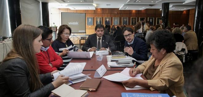 Asambleístas ecuatorianos del Parlatino tuvieron su primera reunión de trabajo
