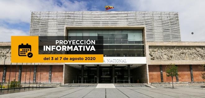 Proyección informativa Asamblea Nacional