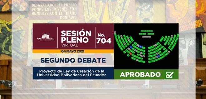 Creación Universidad Bolivariana