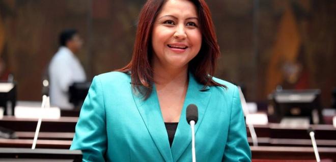 Ximena Peña, asambleísta por la Circunscripción de Estados Unidos y Canadá. Foto - Archivo