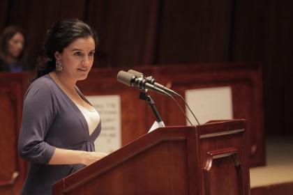 Contribuciones por terremoto irán a cuenta de Presupuesto del Estado: Rosana Alvarado