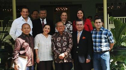 En Indonesia, asambleístas ecuatorianos destacan la participación ciudadana